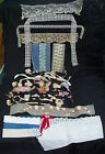 Estate LOT FLOWERS #1 +  LACES EYELET ++ for DOLLS - FASHION ANTIQUE VINTAGE
