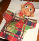 VINTAGE DISNEY DOPEY HAND PUPPET--EARLY 1950's by GUND--RUBBER HEAD---RARE FIND!
