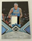 Chris Andersen 2010-11 Panini Limited PATCH 73 Jersey # 11 25 1 1 Nuggets