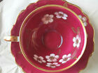 Shumann Arzburg bone china, Bright, floral tea cup & saucer made in Bavaria