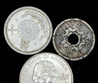 2 circa- World War II Japanese Coins - Occupational Forces Bring Back