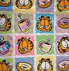 Rare Garfield flannel fabric 2 1 4 yds Snuggle Flannel