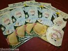 Daisy Kingdom No Sew Fabric Applique Easter Angels Lot of 4 NOS Bunnies Basket