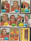 1960 Topps Football Cards 3