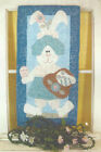 Blossom Bunny - Quilted Wall Hanging Pattern - Applique - Easter - Spring