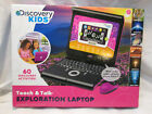 Discovery Kids Teach 'n' Talk Exploration Laptop (Pink for Girls) - New In Box!