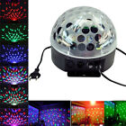 12W RGB LED MP3 DJ Club Pub Disco Party Crystal Magic Ball Stage Effect Light