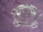 Vtg FIRE KING Glass Ashtray Crystal Clear PENTAGONAL Star shape PENTAGON PERFECT