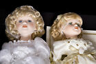Heritage Signature Collection Dolls Porcelain - Bride and Fairy