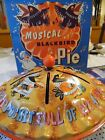 TIN WIND UP TOY BLACK BIRDS BAKED IN A PIE BY MATTEL TOYS 1953 MUSIC