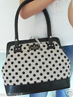 NWT! KATE SPADE GORGEOUS BELLTOWN SHOULDER BAG TOTE PURSE HANDBAG BLACK NATURAL