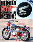 HONDA ENTHUSIASTS GUIDE BOOK MOTORCYCLES HISTORY MODEL BUYERS