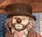 Broadway Collection Porcelain Hobo Clown, w/ clothing & Accessories In Box & Tag