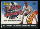 1999 Topps Traded and Rookies Update Baseball Factory Sealed Set + Auto