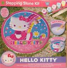 New Kids Hello Kitty Stepping Stone Kit Arts & Crafts Painting Decor Sanrio Gift
