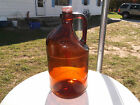 OLD/VINTAGE ONE HALF GALLON CLOROX BLEACH BOTTLE , WITH HANDLE , SCREW TOP
