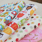 100%Cotton cartoon patten crafting fabric for DIY by 1 meter SP77 free shipping