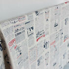 Newspaper printing cotton and linen fabric by 1 meter SP79 free shipping