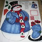 Daisy Kingdom **Snowman** Wall Hanging / Door Fabric Panel Approx. 43
