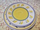 Two Dinner Plates One Salad Plate From William Sonoma Made in Italy Hand Painted