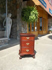Ball & Claw Three Drawer Stand in Mahogany by the Kling Factories 19thc