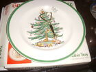 SPODE CHRISTMAS TREE HANDLED TIDBIT TRAY (S3324 R)  MIB 10 3/4