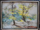 Vintage Morris Katz 1978 Painting ~ Oil on Board