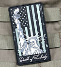 The Tactical USA Flag Death of Liberty Velcro Morale Glow in the Dark flag Patch