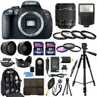 Canon EOS Rebel T5i SLR Camera + 18 55mm STM Lens + 30 Piece Accessory Bundle