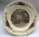 OBERNAI FAIENCERIES SARREGUEMINES FRANCE DINNER PLATE - 9.75 INCHES - plate I