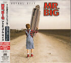 Mr.BIG / ACTUAL SIZE JAPAN CD OOP W/OBI,SPECIAL BOOKLET