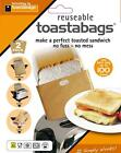 Brand New! Pack of 2 Gold Reusable Toastabags Use Each Bag up to 100 Times!
