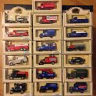 Free Shipping New Lot 19 Lledo Collectible Die Cast Metal Chevron Model Vehicles