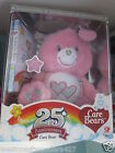 Care Bears Bear 25th Anniversary Edition PINK Swarovski & DVD FAST SHIPPING!
