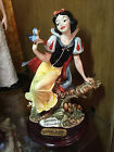 Giuseppe Armani Snow White Disney With Bluebird- 0209C- Near Mint Figurine