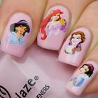 Disney Cartoon Princess Nail Art Water Slide Sticker, Decals - USA Seller #16