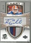 2013-14 UD The Cup Tim Tebow Crosby Tribute Auto Patch Florida Gators # 10 3 CLR