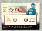 2010 TOPPS TRIBUTE JERSEY & AUTOGRAPH CLAYTON KERSHAW  Serial #'d (55 99)