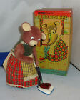 Cragstan The Busy Housekeeper Battery Operated Teddy Bear Vacuum Cleaner Alps