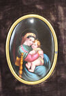 19 Century Hand Painted Continental Painted Porcelain Plaque (7184)