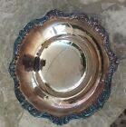 EPCA OLD ENGLISH SILVER PLATE Footed Candy Dish BOWL  # 5005 by POOLE