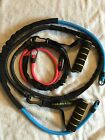 Golds Gym 3 Exercise Resistance Bands With 2 Handles. Excellent Condition
