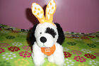 Puppy Dog Easter Bunny Rabbit Ears Stuffed Animal~NWOT~FREE NEXT DAY SHIPPING!