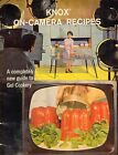 VINTAGE 1960 KNOX on Camera recipes. A completely new guid to Gel Cookery-48 pg