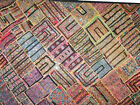 Kutch Embroidery Tapestry Gujarati Patchwork Wall Hanging