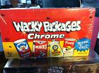 2014 Topps Wacky Packages Chrome factory sealed Hobby Box Find RARE short prints