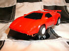 TYCO SUPER RACING RED ROCKET ll LAMBO-HOT ARM-LEVEL 48 NEO-WIZZARD-BSRT-FAST!!