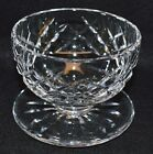Waterford Cut Crystal Footed Desert Bowl Lismore EUC!!