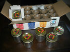 VINTAGE BAL QUILTED CRYSTAL 8 oz JELLY GLASS CANNING FRUIT JARS 18 NEW