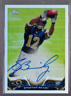 2013 Topps Chrome Stedman Bailey Refractor On Card Autograph Rc Serial # to 150